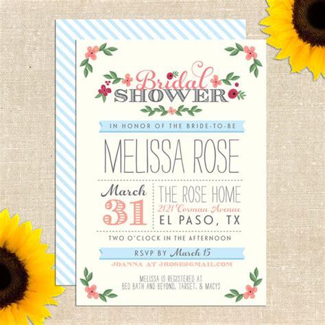 Free Printable Bridal Shower Invitations - free printable bridal shower invitation giveaway