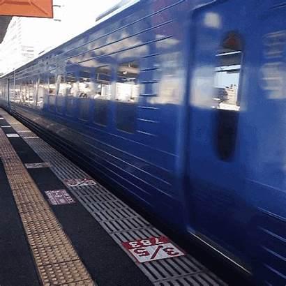 Train Cinemagraph Transport Endless Boat