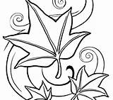 Coloring Leaves Pages Leaf Fall Jungle Crayola Autumn Tropical Mandala Season Drawing Pumpkin Printable Drawings Getcolorings Clipartmag Print sketch template
