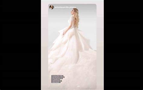 ¿Se casa Emma Coronel?; presume vestido de novia