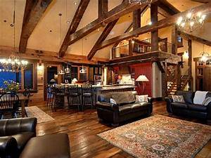 Rustic open floor plans with loft rustic simple house for Small rustic open floor plans with loft