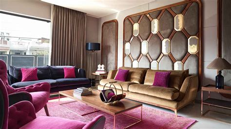 jaipur bungalow   contemporary den rich