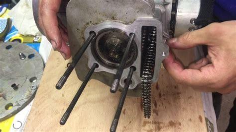 tuto meca changer un piston remontage haut moteur dirt bike 125 140 150 dax ycf youtube