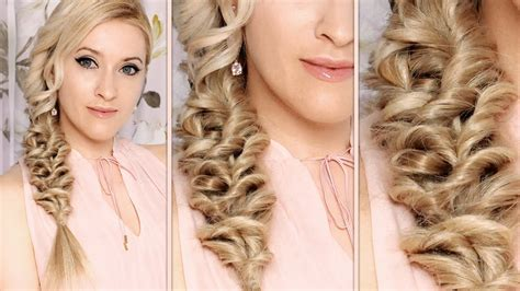 mermaid braid hairstyle tutorial everyday mediumlong