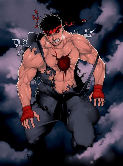 Evil Ryu Ryuu Street Fighter Zerochan Anime Image Board