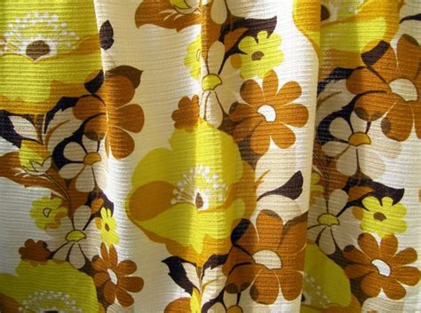 Pair Of Retro Curtains Vintage 1960s / 1970s Synthetic Christmas Parties In Sheffield Bowling Ornaments Kids Party Dresses Make At Home Motorcycle Tree Invitations Free Planners Hanging From Ceiling