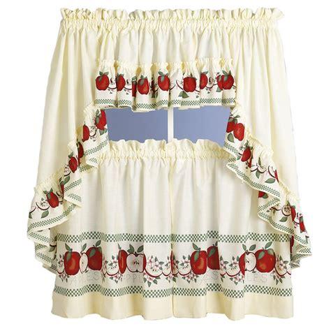 kitchen curtains with apples kitchen design photos