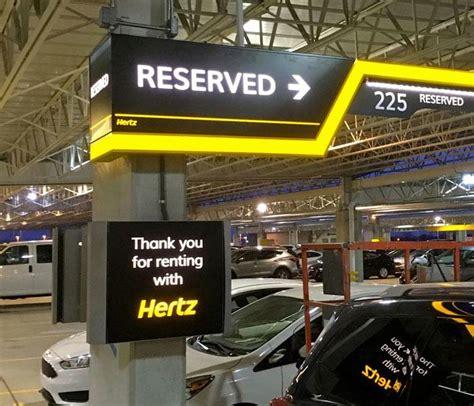 Hertz Car Rental Brand Conversion Programs At Airports