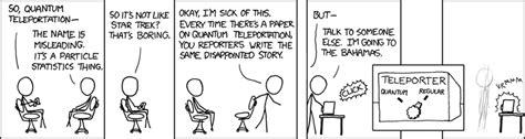 quantum teleportation explain xkcd