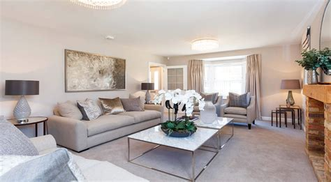 House Living Room by Show Home Room By Room Lavender Fields Isfield