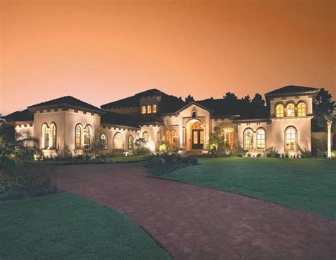 Cool 5 Bedroom Mediterranean House Plans New Home Plans