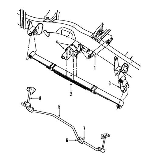 rear suspension for 2002 dodge dakota