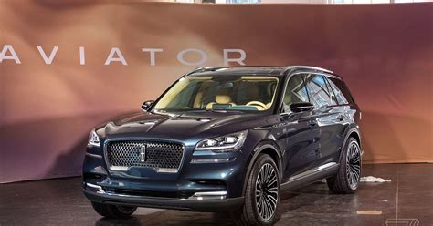 The Lincoln Aviator Is A Plug-in Hybrid Suv With A