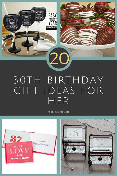 birthday gifts for 20 good 30th birthday gift ideas for women