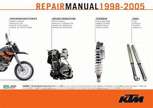 Official 1998-2005 Ktm 400-660 Lc4 Manuals