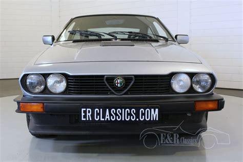 1985 Alfa Romeo Gtv6 by Alfa Romeo Gtv6 Savali 1985 For Sale At Erclassics