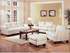 Living Room Set Furniture by Samuel White Leather 3 Pcs Living Room Set Sofa Loveseat And Chair Coast