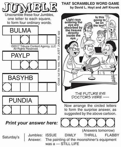 Jumble Pdf Comics Puzzles Poststar