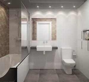Faience Salle De Bain Blanche : 1001 id es salle de bain beige et gris pierre deviendra sable ~ Melissatoandfro.com Idées de Décoration