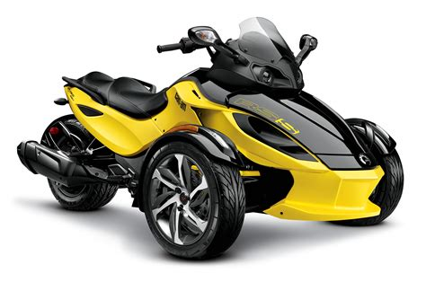 2014 Can Am Spyder 2014 can am spyder rs s yellow photo 20