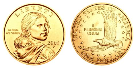 2005 P Sacagawea Dollars Golden Dollar Value And Prices