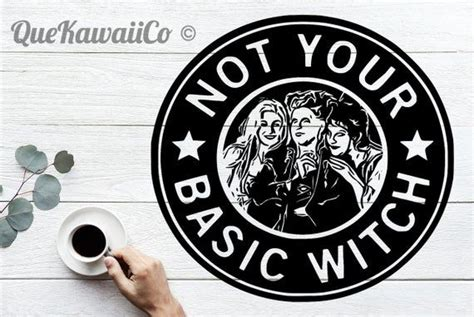 basic witch decal cricut instant downloadable svgpng basic witch cricut explore air