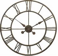 Wall Clocks Large by River City Clocks Metal Skeleton Tower Clock Large Wall Clock Transitiona