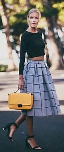 Tenue Femme Classe : 1000 ideas about crop top with skirt on pinterest ~ Farleysfitness.com Idées de Décoration