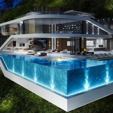 Moderne Häuser Mit Pool by Amaing Luxury Modern Clifside Home And Pool Ideen Rund