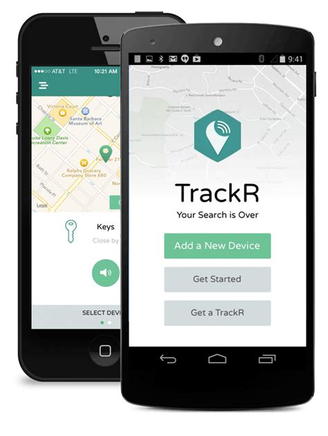 tracking app for android trackr bravo