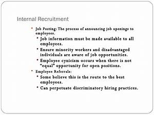 Recruitment And Selection Hiring The Right Person
