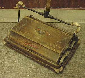 Victorian domestic technology for First carpet sweeper