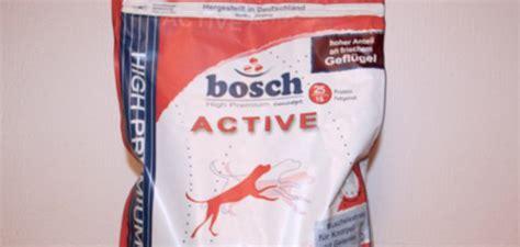 bosch active trockenfutter test und erfahrungen