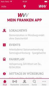 Wvv Würzburg Fahrplan : wvv mein franken app w rzburg app vorstellung ~ Watch28wear.com Haus und Dekorationen