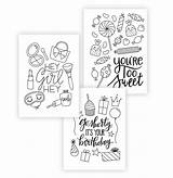Cards Coloring Printable Greeting Pages Damasklove Occasion Card Colouring Every Diy Enjoy Stay Printables Damask Downloads Way Them sketch template