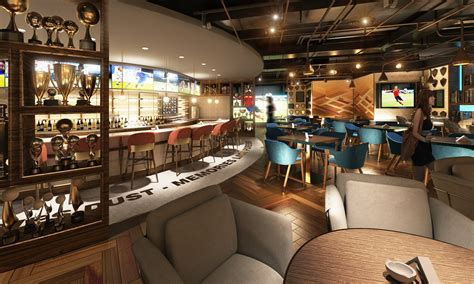fairmont dubai set  open  sports bar