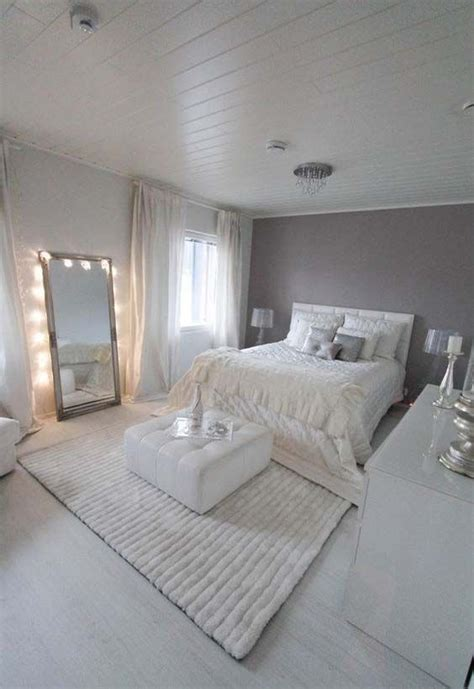 Gray And White Room Decor - coconut white chic bedroom bedroom ideas
