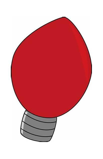 Christmas Bulb Clipart Lights Clip Tree Bulbs