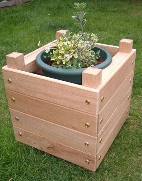 how to make a wooden planter box 20 most diy planter box ideas
