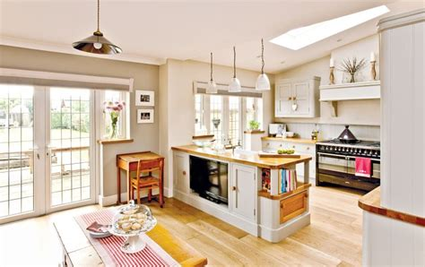 narrow house plan open plan family kitchen diner homes