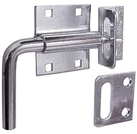 2 Non Mortise Cabinet Hinges by Thh Pb124s Heavy Duty Padlockable Door Amp Gate Latch