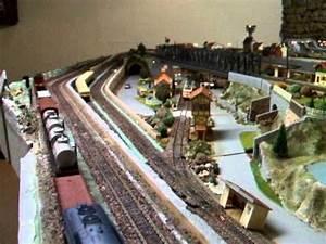 Rseau Train Lectrique Maquette Dcors Clairs YouTube