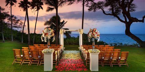 andaz maui weddings  prices  maui wedding venues