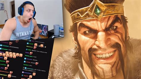 Tyler1 Reacts To Awaken (draven Included)
