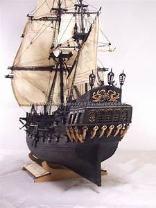 wooden ship model kit-Black Pearl(Pirate of Caribbean ...