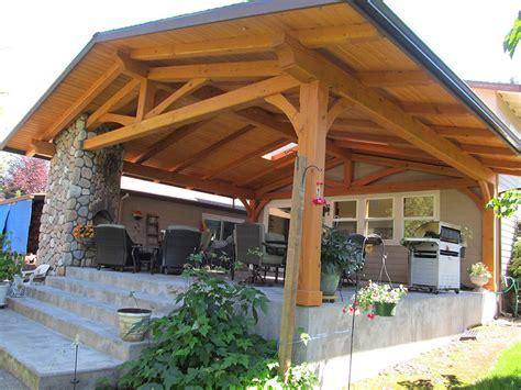 wooden outdoor patio structures modern patio outdoor