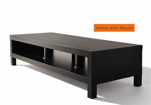 Ikea Table Tv : new ikea lack lcd led plasma tv stand rack unit up to 58 black modern ebay ~ Teatrodelosmanantiales.com Idées de Décoration