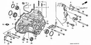 2002 Honda Civic Transmission Diagram Wiring Schematic