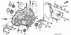 2002 Honda Civic Transmission Diagram Wiring Schematic