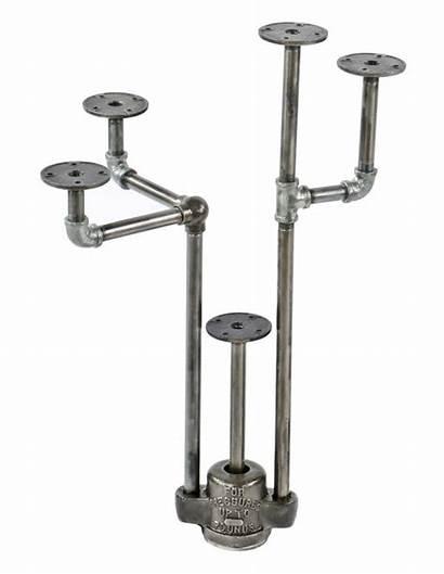 Repurposed Trap Iron Cast Plumbing Grease Valve